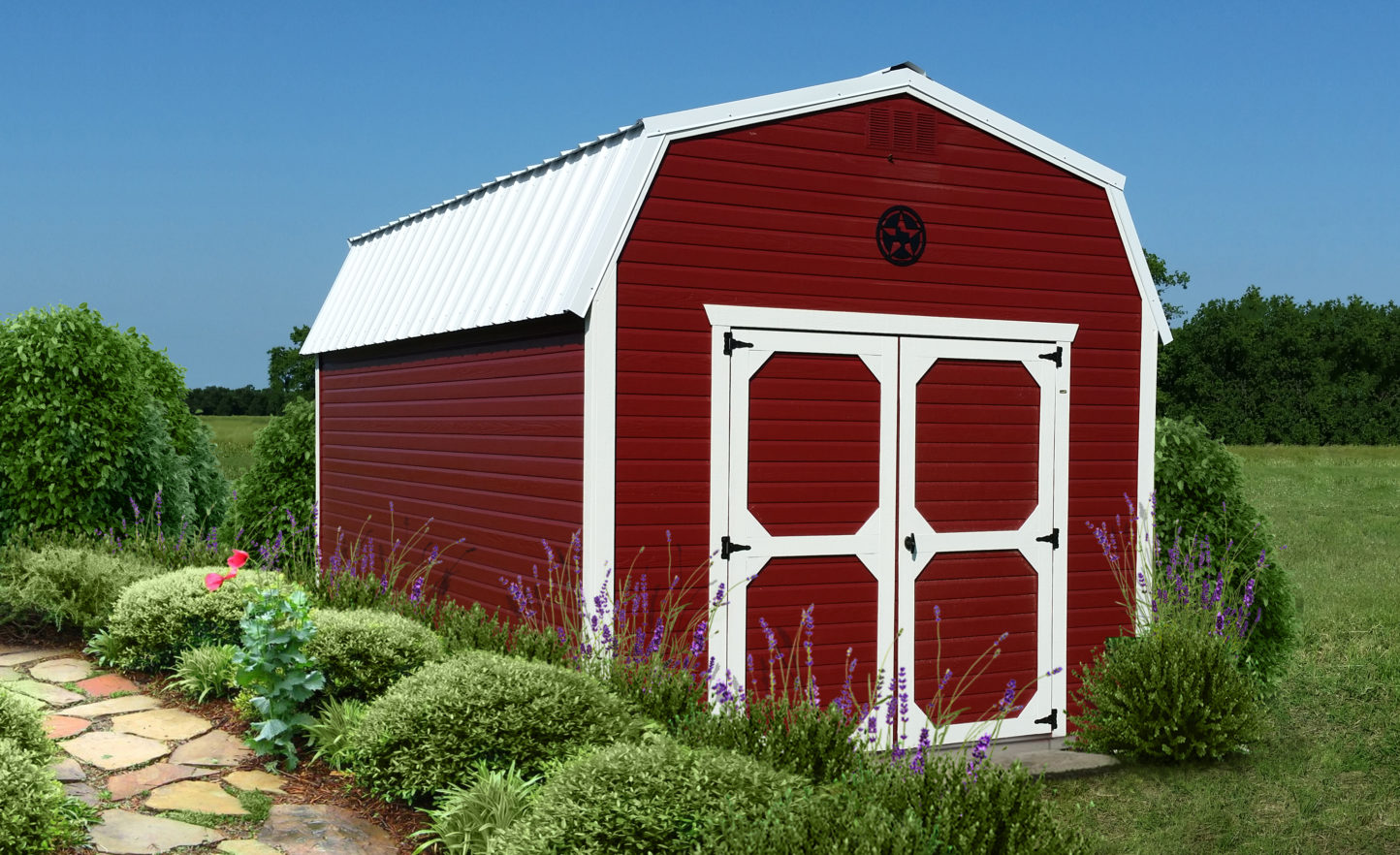 Painted Doutchlap Lofted Barn