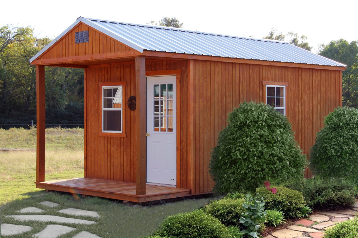 Wood Utility Cabin