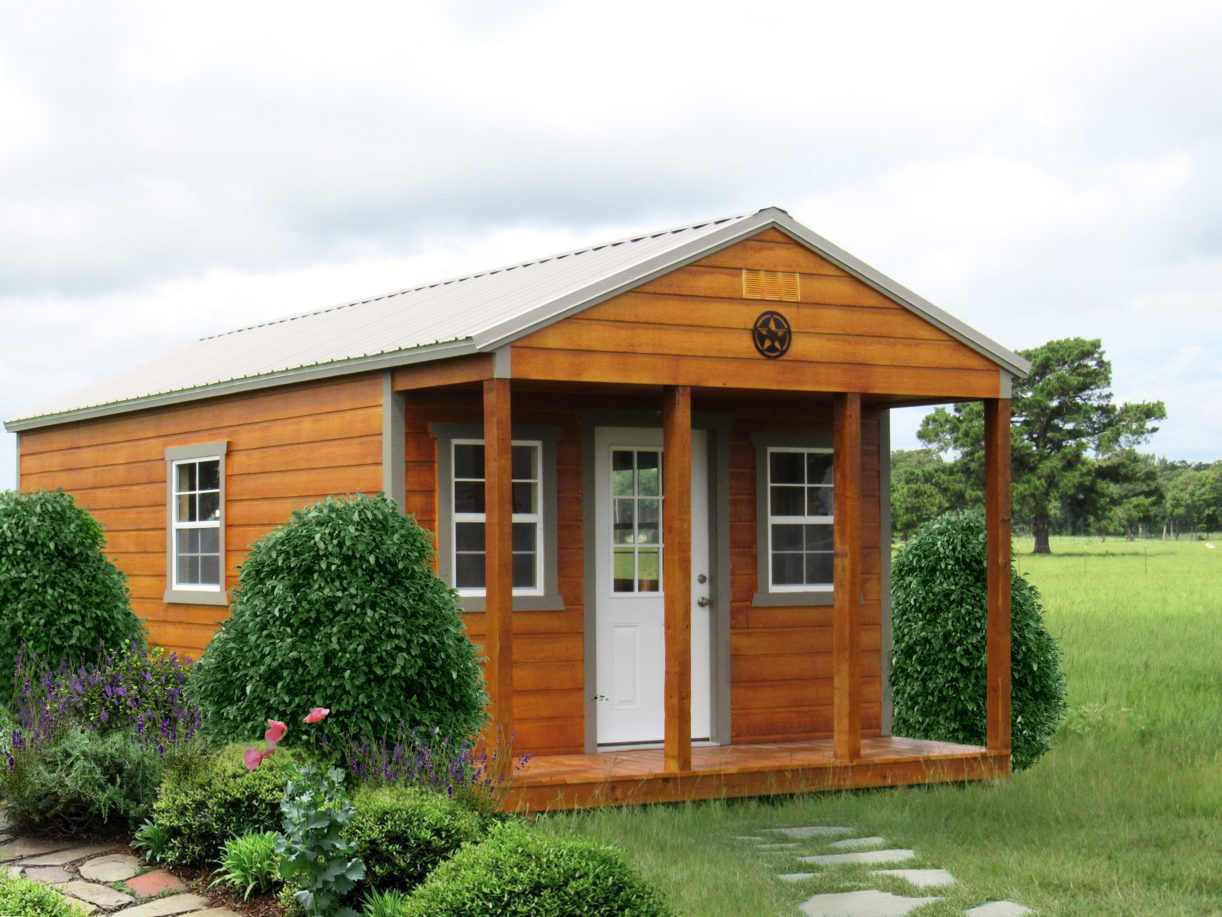 Hardie Stained Utility Cabin